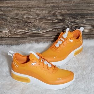 New Nike Air Max Dia Orange Running Sneakers
